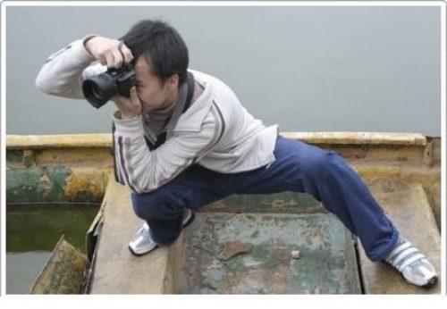 Les positions les plus bizarres pour prendre une photo