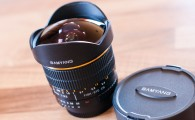 Photo : objectif fisheye Samyang 8mm f/3,5