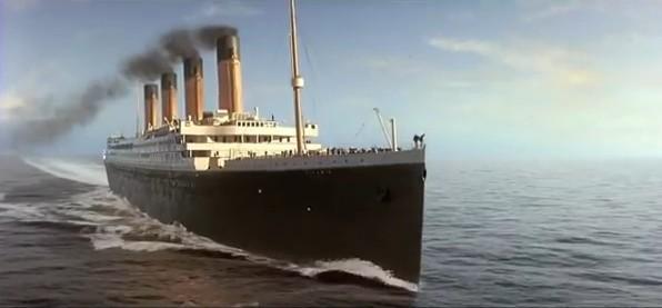 Le film Titanic en 3D