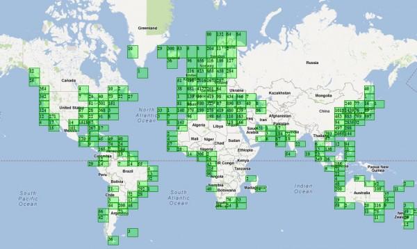Afficher le trafic maritime en temps réel avec Marinetraffic