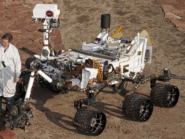Mars Science Laboratory : le rover Curiosity