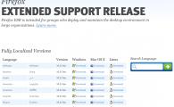 Une version de Firefox dédiée aux entreprises : Firefox ESR