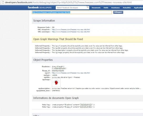 Commentaires Facebook sur votre site : fin du paramétrage