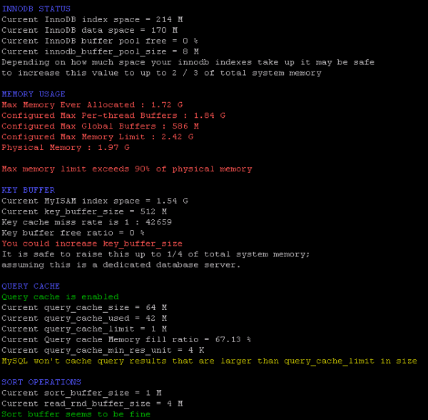 Optimisation de votre serveur MySQL
