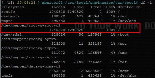 No space left on device sur votre serveur Linux : vérification des inodes libres
