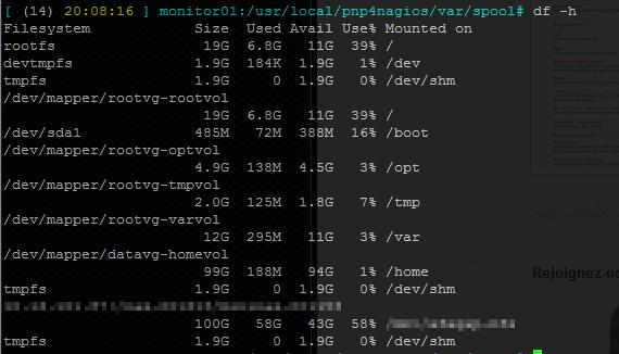 No space left on device sur votre serveur Linux : commande df