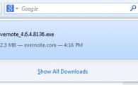 Nouvelle gestion des téléchargements dans Firefox 20